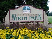 Wirth Park Sign