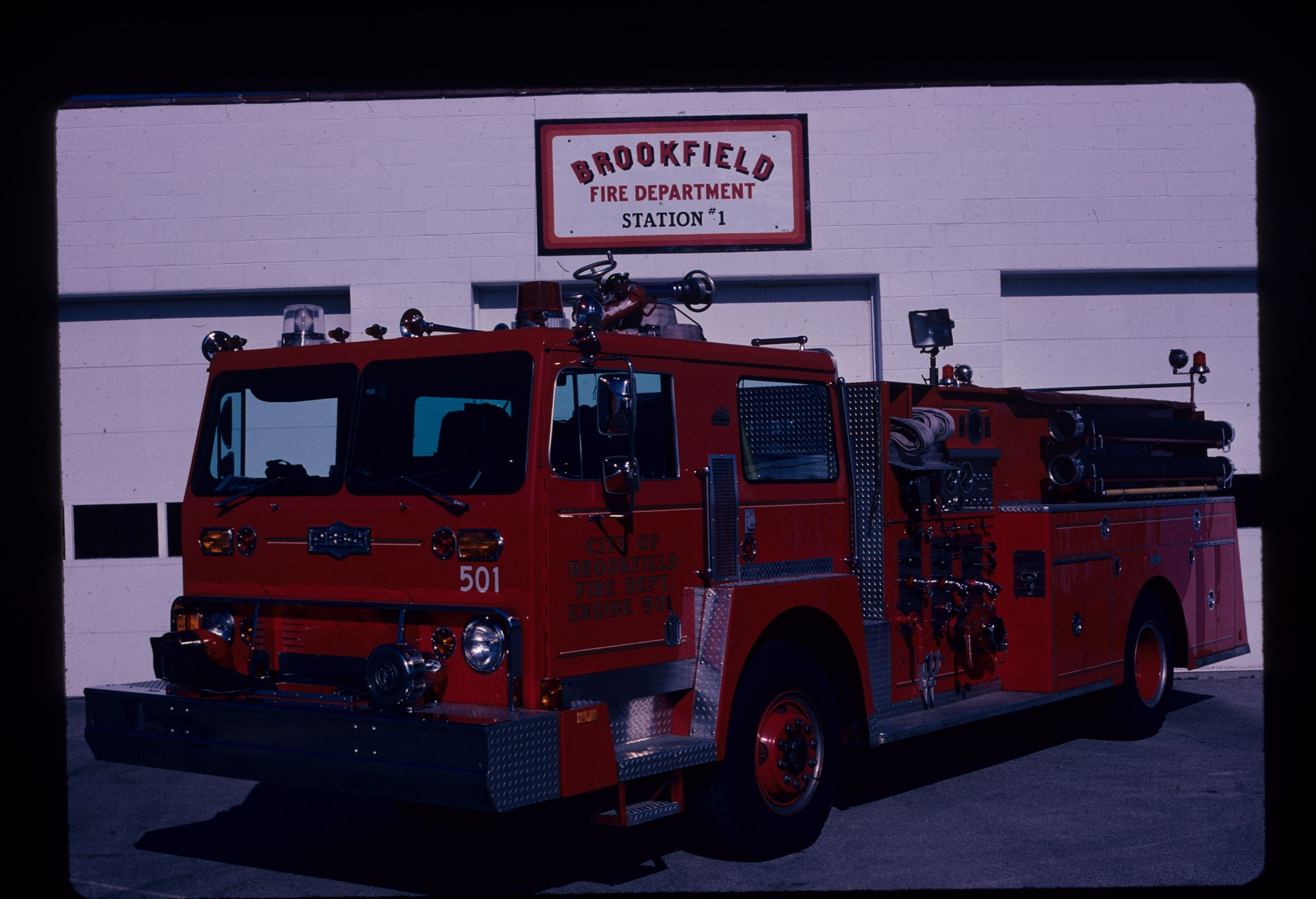 City of Brookfield Fire Department History | Brookfield, WI