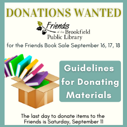 Donations for Friends Book Sale