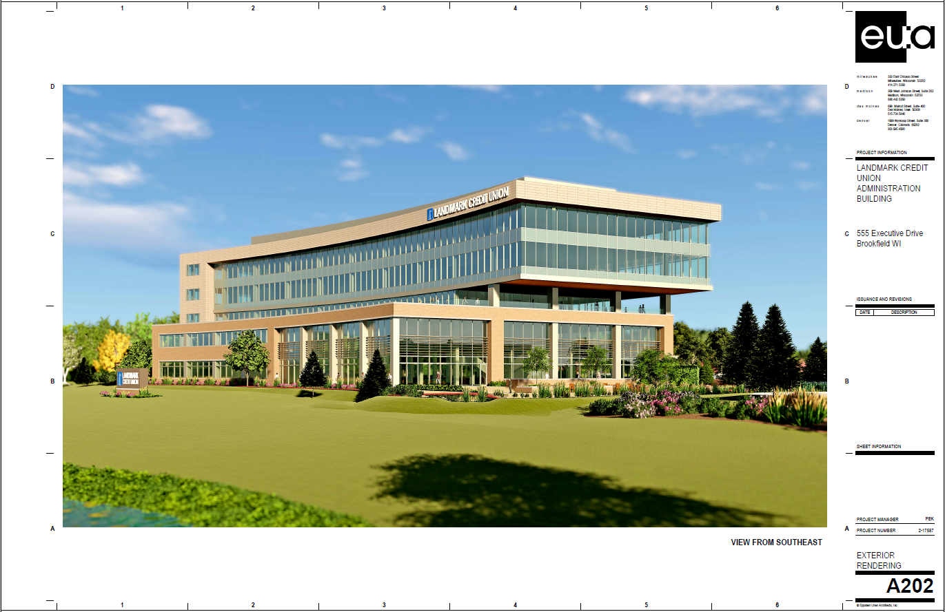 Landmark Credit Union Rendering One