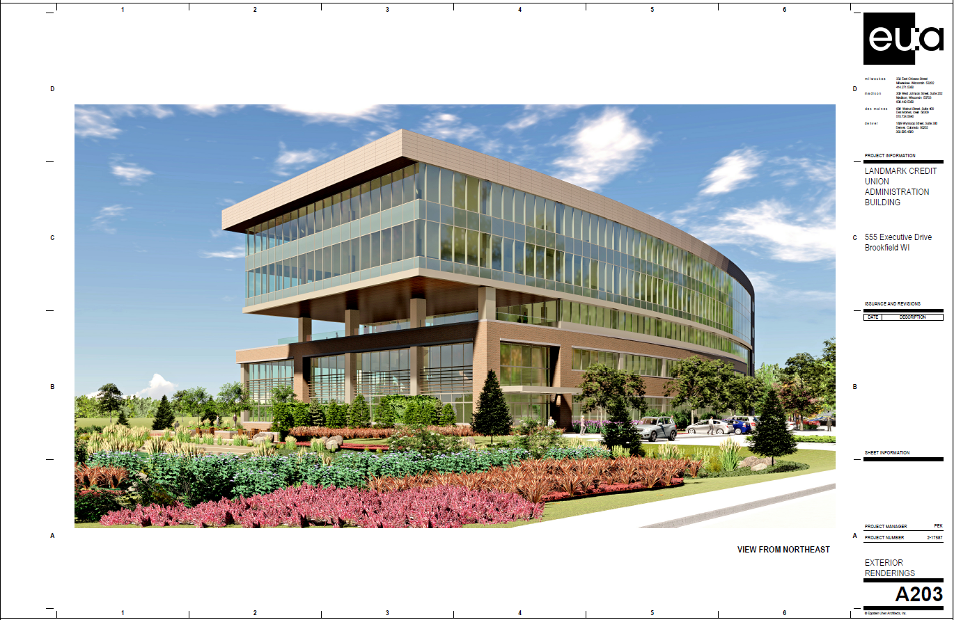Landmark Credit Union Rendering Two