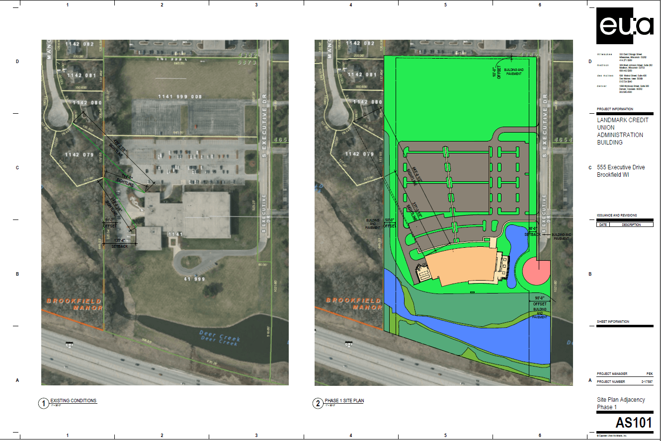 Landmark Credit Union Site Plan