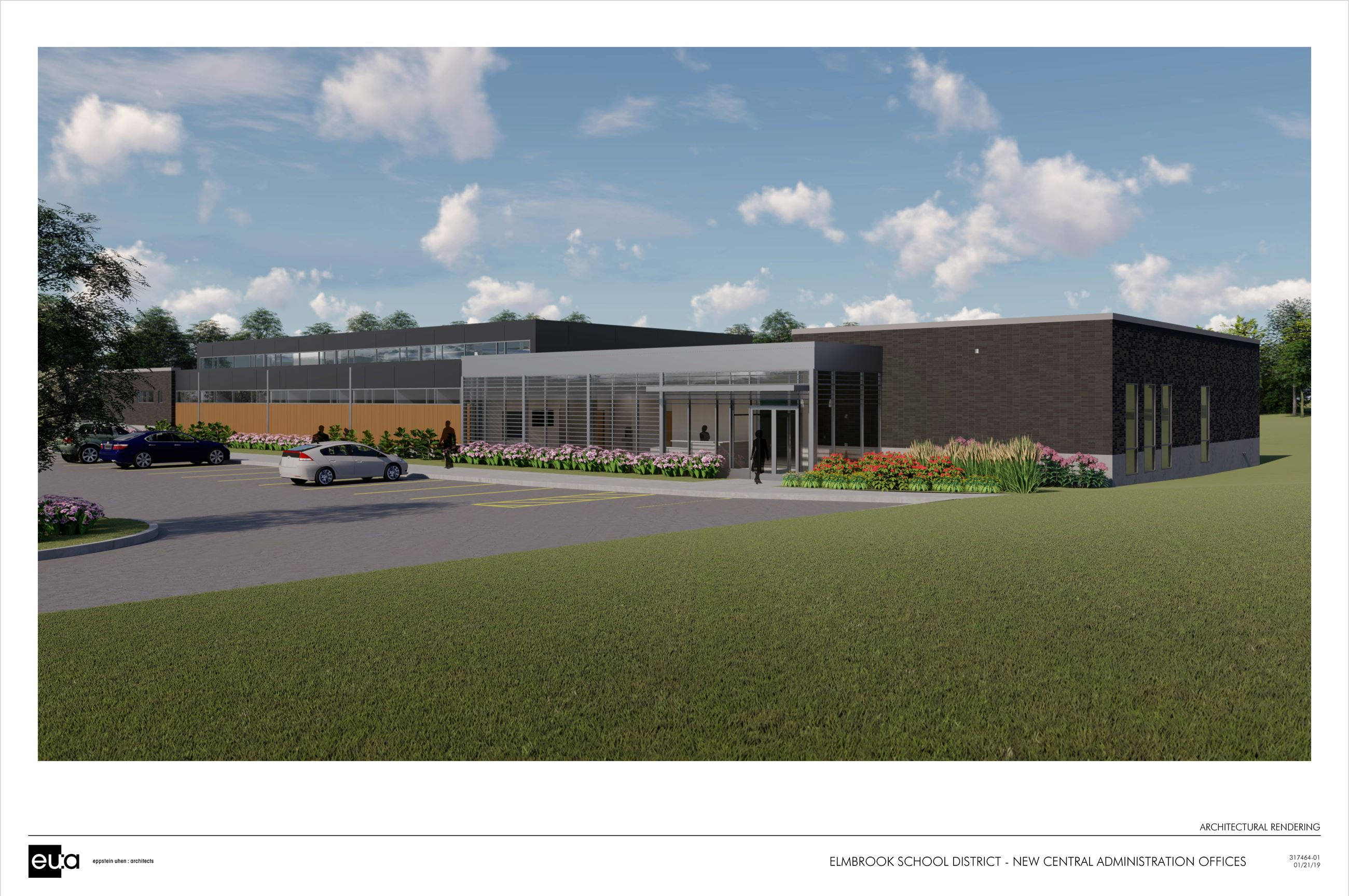Elmbrook School District Administrative Building Rendering